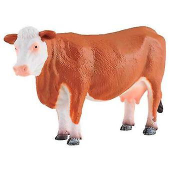 Collecta Hereford cow - White And Brown -L-