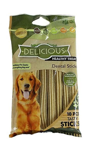 Natural Dog Treats Dental Sticks Healthy Meaty Dog Treats Chews Reduce Plaque
