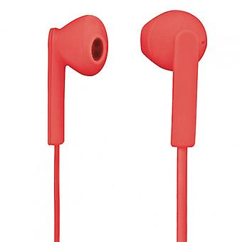 H Headphone Mood Pink In-Ear Mic Flat cable