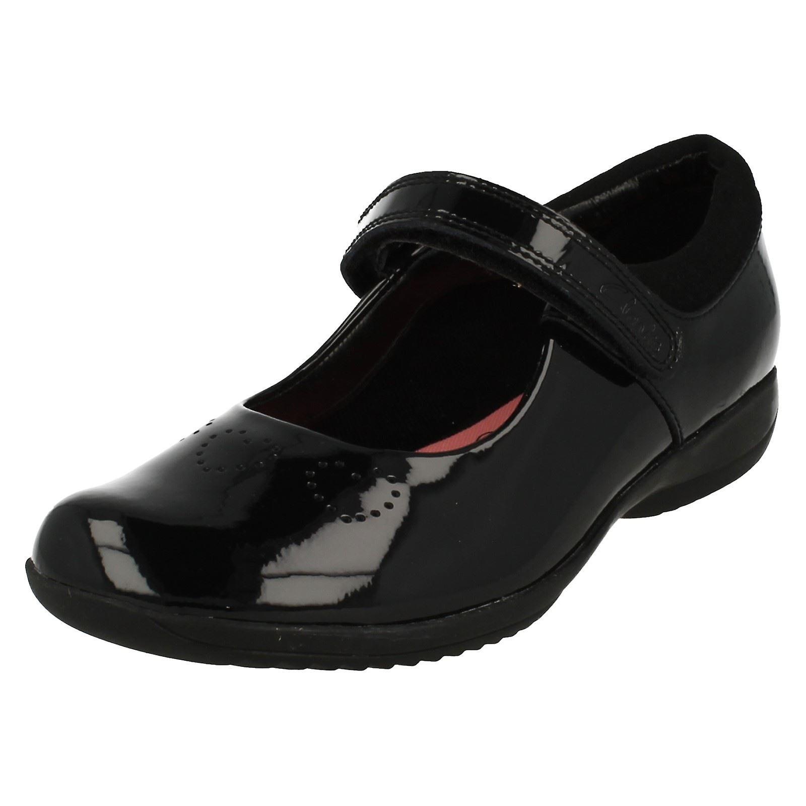L'école primaire filles Clarks chaussures ami Fizz