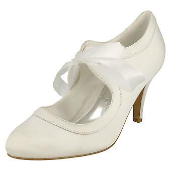 Ladies Anne Michelle Tie Up Wedding Style Shoe