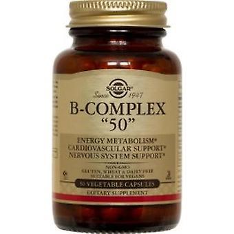 Solgar - Vitamin B-komplex 100 Extra hög potens 50VCaps
