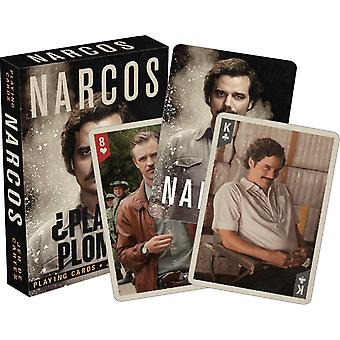 Narcos set of 52 playing cards + jokers   (nm)