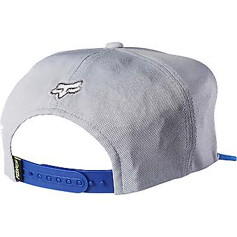 Fox Slasher Head Snapback Cap - Chalk