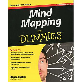 Mind Mapping For Dummies (Paperback) by Rustler Florian