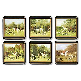 Pimpernel Tally Ho Coasters Set of 6