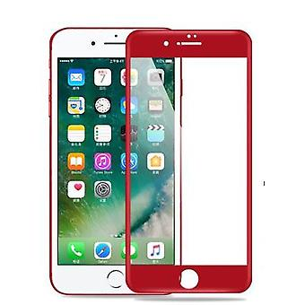 RED Full Cover Tempered Glass 3D Curved Screen Protector For iPhone 7 Plus