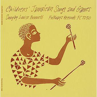 Louise Bennett - import USA jamajski piosenek & gry [CD] dla dzieci