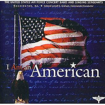 US Air Force Band & sang sergenter - jeg er en amerikansk [CD] USA importerer