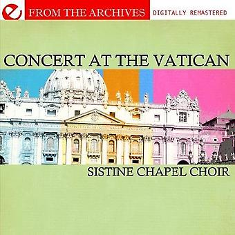 Sixtijnse kapel koor - de Sixtijnse kapel Choir in Concert in het Vaticaan [CD] USA import