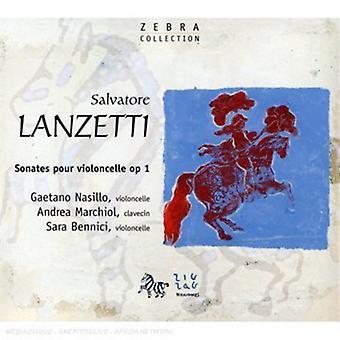 S. Lanzetti - Lanzetti: Sonates Pour Violoncelle Op. 1 [CD] USA import