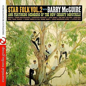 Barry McGuire - Barry McGuire: Vol. 2-stjärnigt Folkmusik [CD] USA import