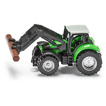Siku Tractor With Log Grabber  (Toys , Vehicles And Tracks , Mini Vehicles , Tractors)