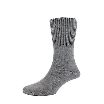 hJ2413 HJ Hall Mens Warm Acrylic Bedsocks Actifresh Sanitized Bed Socks