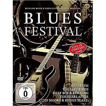 Forskellige kunstner - Blues Festival [DVD] USA importerer