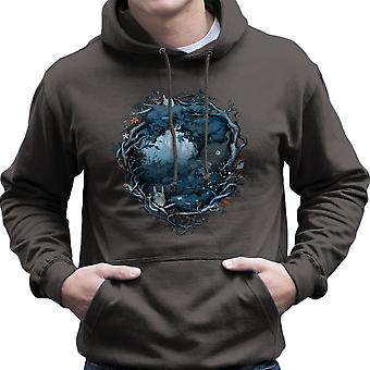 Forest Spirits My Neighbor Totoro Studio Ghibli Men's Hooded Sweatshirt