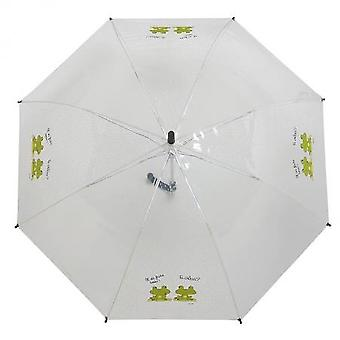 Derrière la Porte Umbrella Transparent Frogs Croaa (Home , Gadgets)