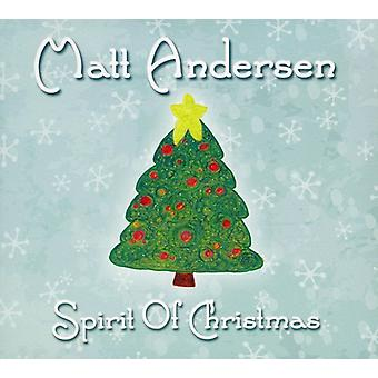 Matt Andersen - Spirit of Christmas [CD] USA import
