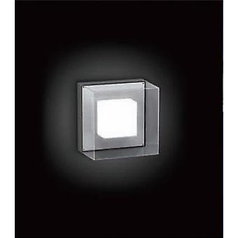 LED Wall lamp, 4 x 1 W COB LED, 3000 K, dark grey, Lofti LED S, 10366