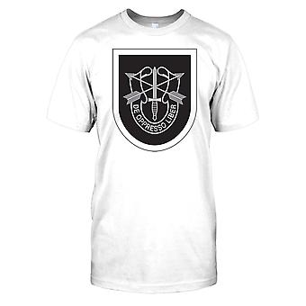 Mens t-shirt DTG tryck - oss Special Forces - De Oppresso Liber-