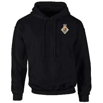 HMS Sultan Embroidered Logo - Official Royal Navy Hoodie