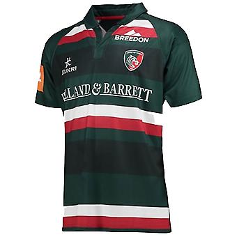2017-2018 Leicester Tigers Home Rugby Shirt (Kinder)