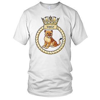 Royal Navy HMS Whelp Ladies T Shirt