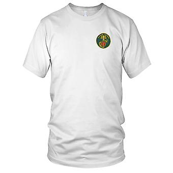 ARVN Marines Danh Tu - Military Unit Insignia Vietnam War Embroidered Patch - Mens T Shirt