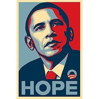 Obama nadzieją plakat Poster Print przez