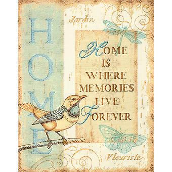 Home Memories Counted Cross Stitch Kit 10