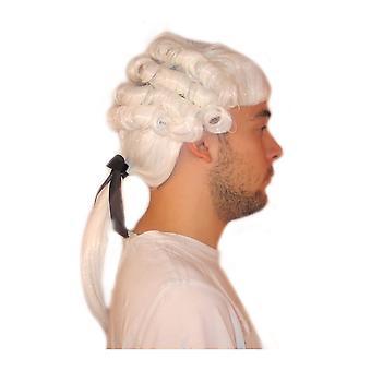 Pelucas peluca Medieval hombre Mozart