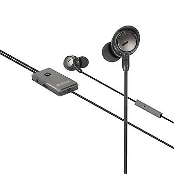 Sweex SWANCHS100GY Headset Anc (active Noise Cancelling) In-ear 3.5 Mm Bedraad Ingebouwde Microfoon