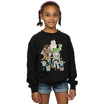 Disney Girls Toy Story Group Shot Sweatshirt