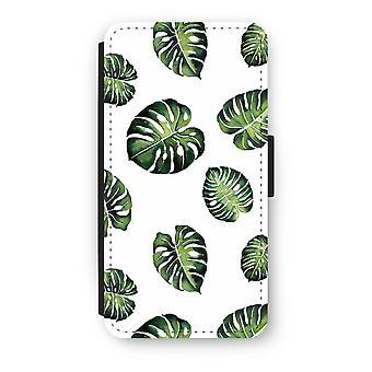 Huawei Ascend P10 Flip Case - hojas tropicales