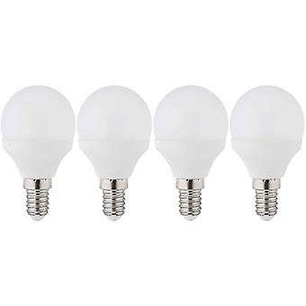 LED E14 Droplet 3 W = 25 W Warm white (Ø x L) 45 mm x 81 mm EEC: A+ Müller Licht 4 pc(s)
