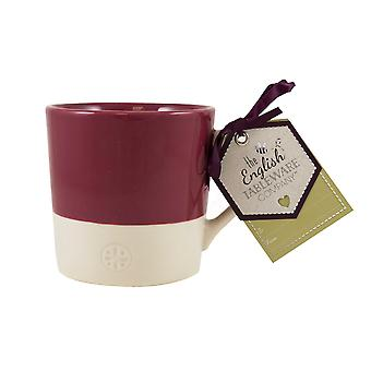 English Tableware Co. Artisan Mug, Raspberry