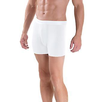 BlackSpade M9324 Men's White Fitted Boxer 2 Pack