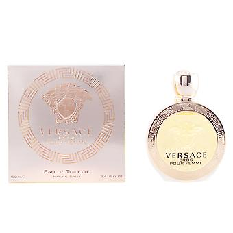 Versace Eros Femme Eau De Toilette Vapo 100ml Womens New Perfume Sealed Boxed