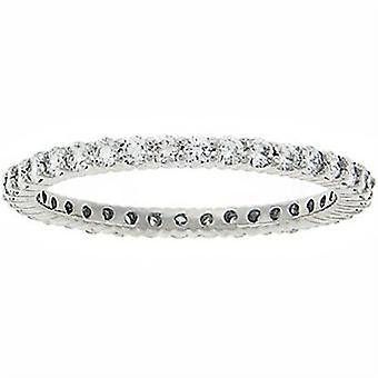 3/4CT Diamond Eternity Ring 14K White Gold