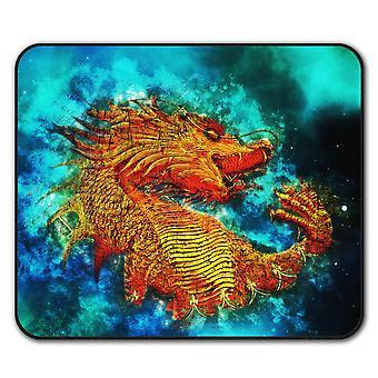 Asian Dragon  Non-Slip Mouse Mat Pad 24cm x 20cm | Wellcoda