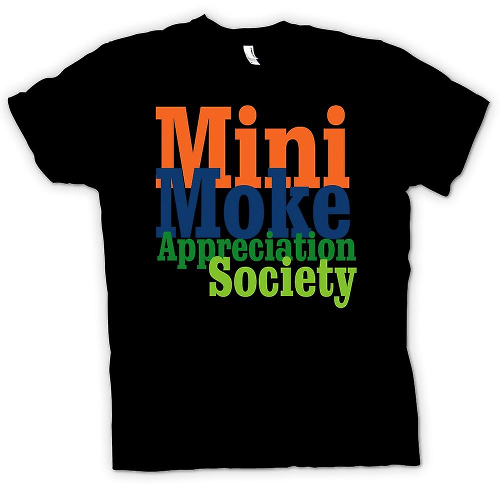 Herr T-shirt-Mini Moke Appreciation Society