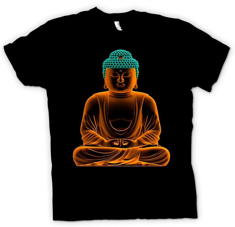 T-shirt - serein Bouddha d'or - les enfants spirituels