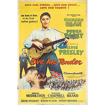 Love Me Tender Movie Poster (11 x 17)