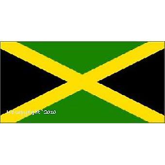 Jamaicas flagg 5 ft x 3 ft med hull For hengende