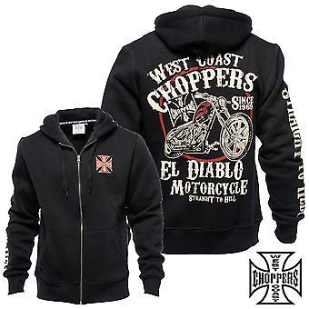 West Coast choppers Zip Hoodie El Diablo