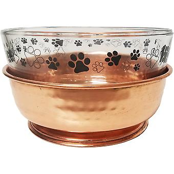 Denali Diner With Glass Bowl-