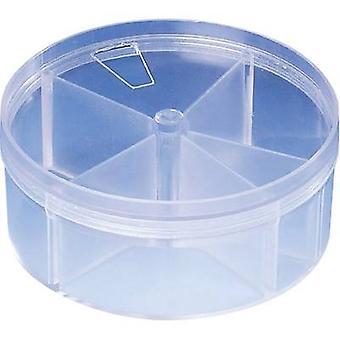 Strapubox RD 4 Assortment tin No. of compartments: 5 fixed compartments