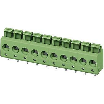 Phoenix Contact PTS 1,5/ 5-5,0-H Spring-loaded terminal 2.50 mm² Number of pins 5 Green 1 pc(s)