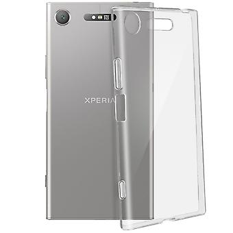 Silikon Case Sony Xperia XZ1 Ultra-klare & ultra-dünnen Schutz kratzfest