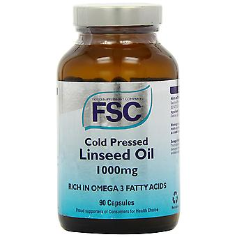 FSC, Cold Pressed Linseed Oil 1000, 90 capsules